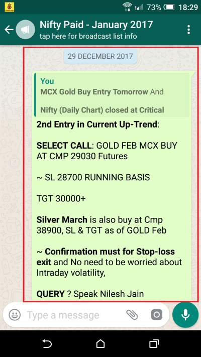 GOLD Trade Entry on Friday