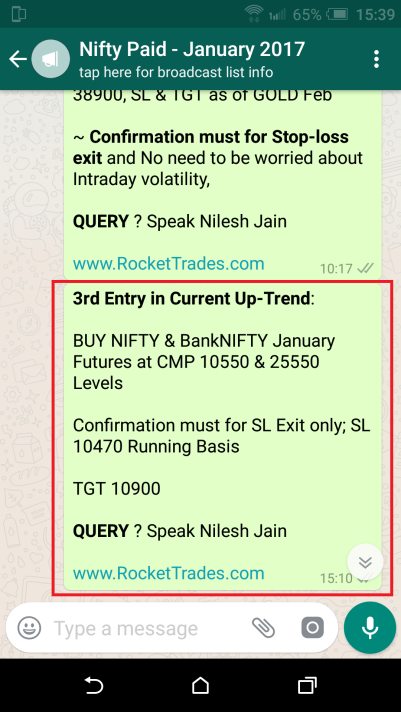 NIFTY ENTRY