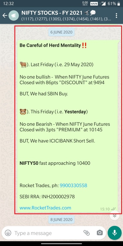 SBIN BUY ICICIBANK SHORT SELL